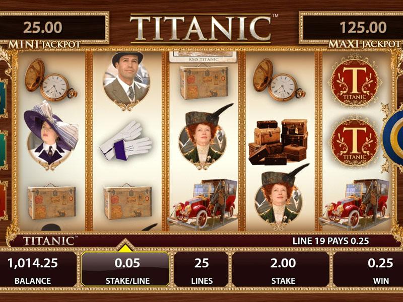 Titanic Slot Machine Online Free
