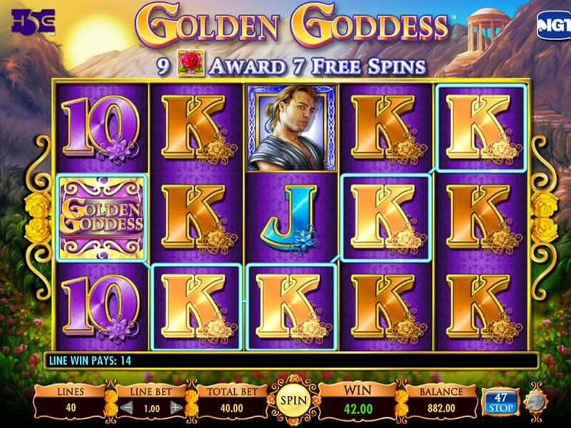 Free Golden Goddess Slots