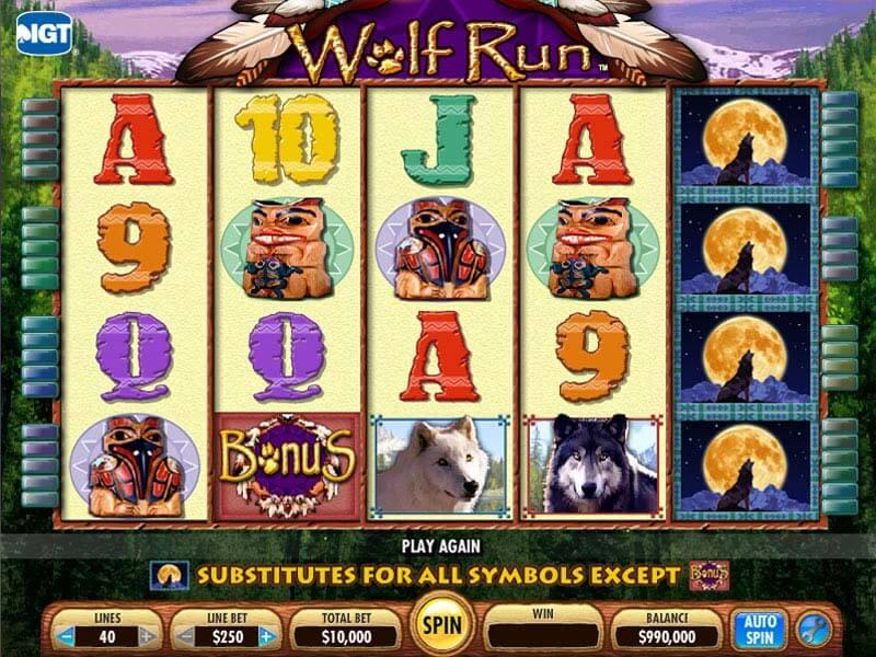 Free Online Slot Machines Wolf Run
