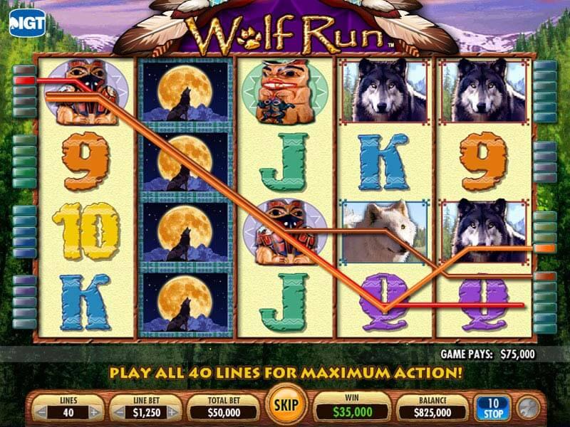 Free Slots Wolf Run